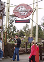 Colossus' main ride entrance