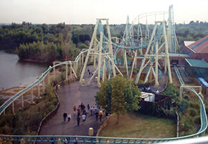 Colossus' track layout as seen from the old Eclipse observation wheel