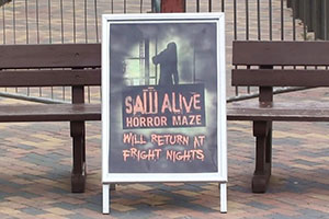 Since 2012, Saw Alive has been a seasonal Fright Nights attraction