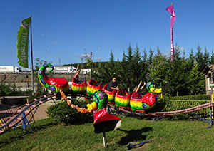 The Dragon rollercoaster