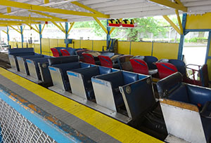 Blue Streak's original Vettel and NAD Century Flyer trains